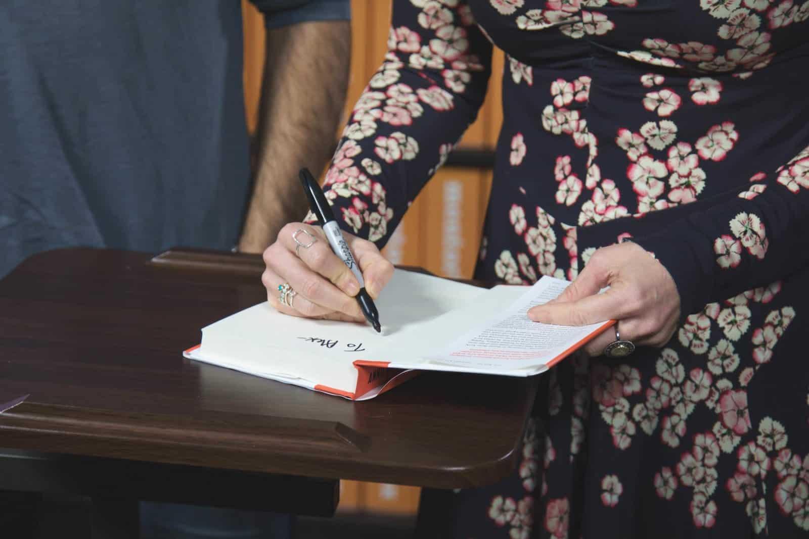 Annie Duke Book Signing