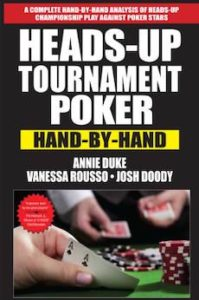 Heads Up Tournament Poker